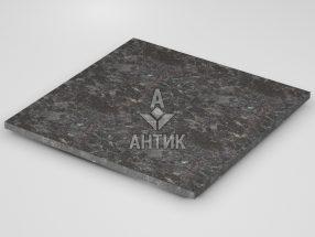 Плитка из Горбулевского лабрадорита 600x600x20 термообработанная фото
