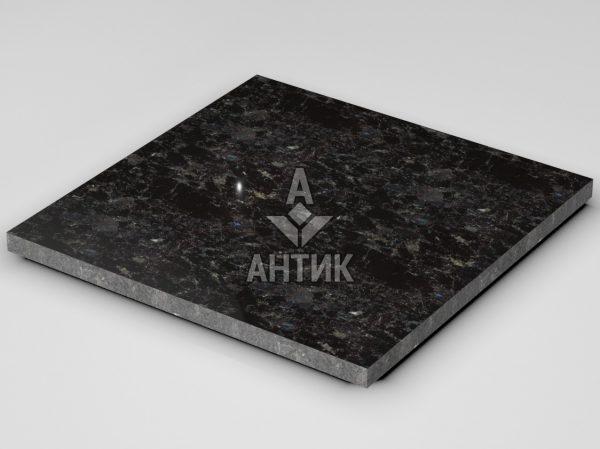 Плитка из Горбулевского лабрадорита 600x600x30 полированная фото