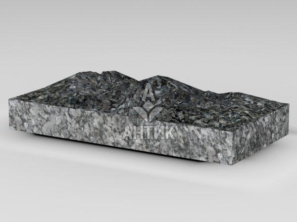 Плитка из Каменная Печь лабрадорита 400x200x50 колотая фото