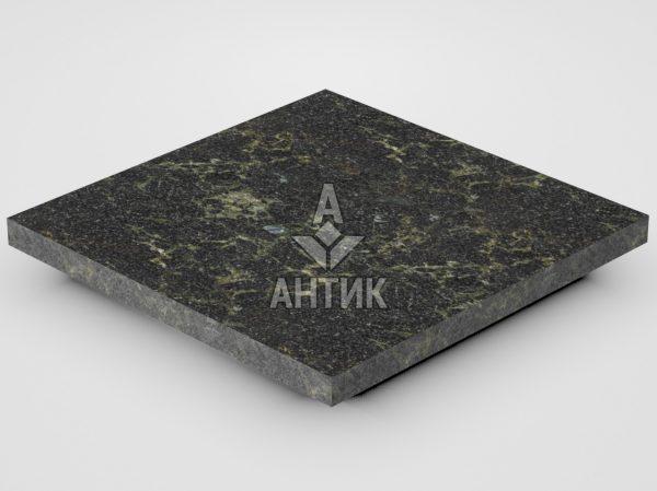 Плитка из Каменнобродского лабрадорита 300x300x20 термообработанная фото