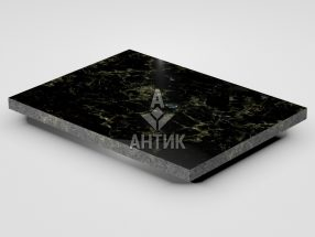 Плитка из Каменнобродского лабрадорита 400x300x20 полированная фото