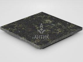 Плитка из Каменнобродского лабрадорита 400x400x20 термообработанная фото