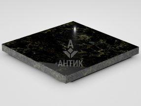 Плитка из Каменнобродского лабрадорита 400x400x30 полированная фото