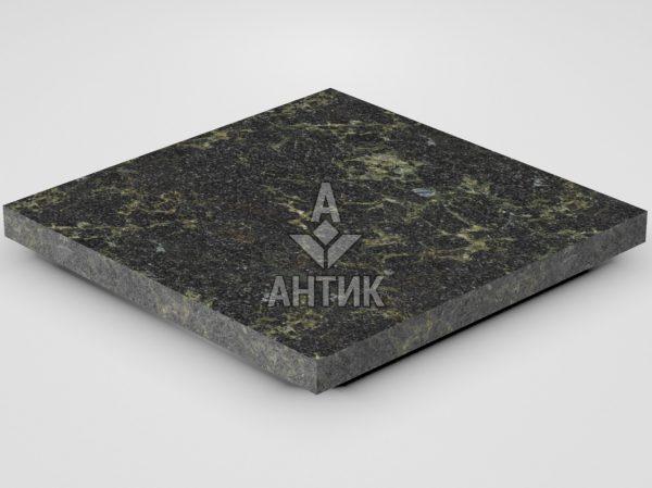 Плитка из Каменнобродского лабрадорита 400x400x30 термообработанная фото