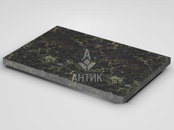 Плитка из Каменнобродского лабрадорита 600x400x30 термообработанная фото