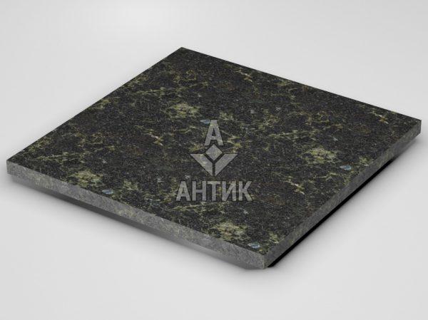 Плитка из Каменнобродского лабрадорита 600x600x30 термообработанная фото