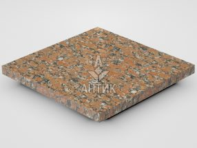 Плитка из Капустинского гранита 300x300x20 термообработанная фото