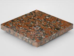 Плитка из Капустинского гранита 300x300x30 полированная фото