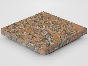 Плитка из Капустинского гранита 300x300x30 термообработанная фото