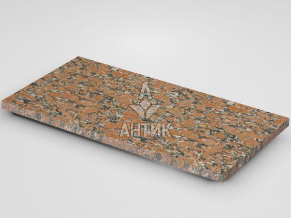 Плитка из Капустинского гранита 600x300x20 термообработанная фото