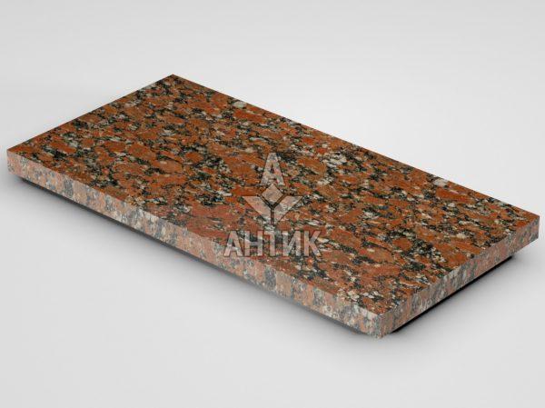 Плитка из Капустинского гранита 600x300x30 полированная фото