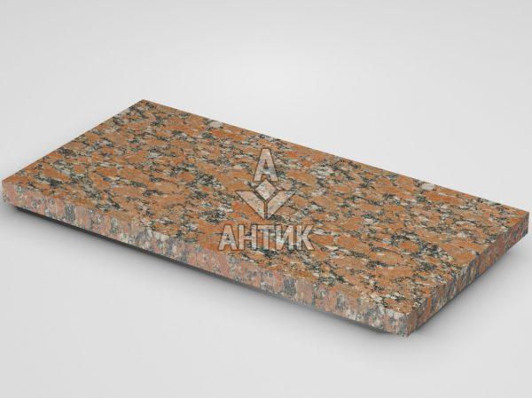 Плитка из Капустинского гранита 600x300x30 термообработанная фото