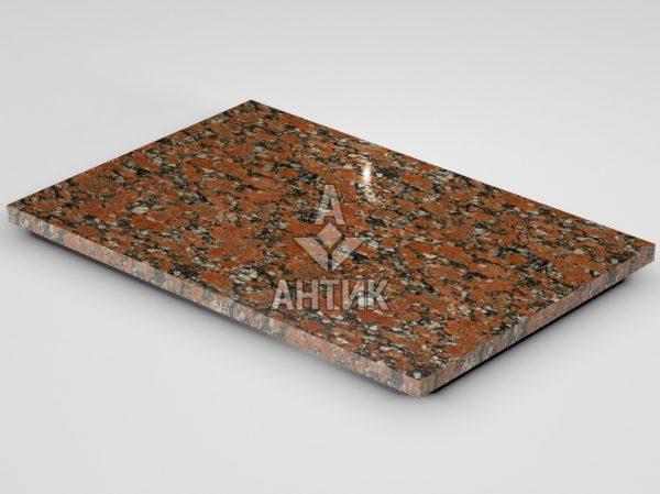 Плитка из Капустинского гранита 600x400x20 полированная фото