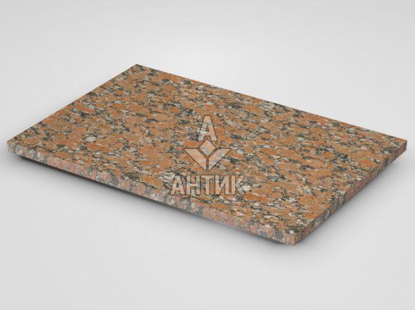 Плитка из Капустинского гранита 600x400x20 термообработанная фото