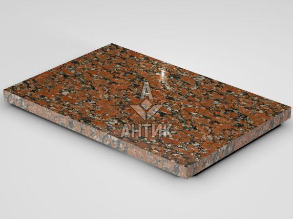 Плитка из Капустинского гранита 600x400x30 полированная фото