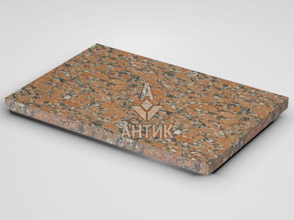 Плитка из Капустинского гранита 600x400x30 термообработанная фото