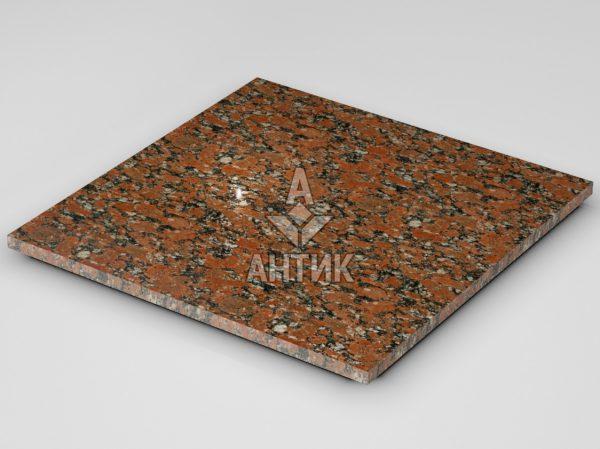 Плитка из Капустинского гранита 600x600x20 полированная фото