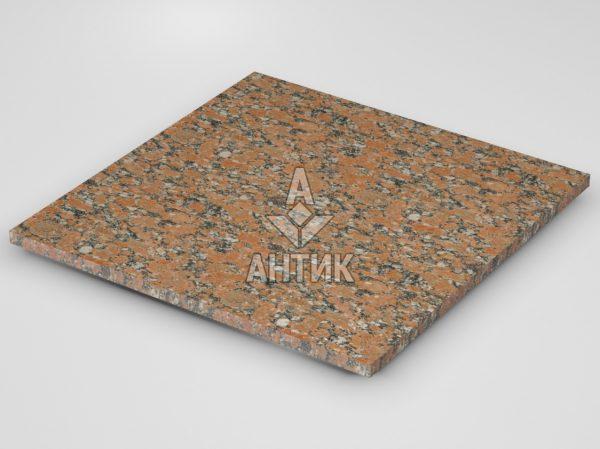 Плитка из Капустинского гранита 600x600x20 термообработанная фото
