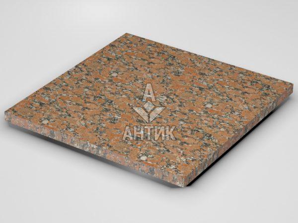 Плитка из Капустинского гранита 600x600x30 термообработанная фото