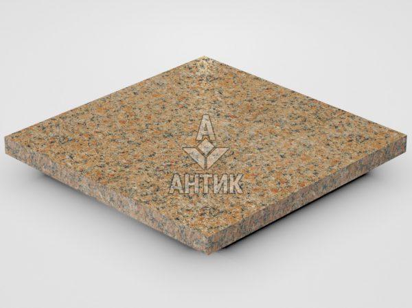Плитка из Кишинского гранита 300x300x20 термообработанная фото