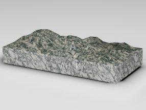 Плитка из Корнинского гранита 600x300x80 колотая фото