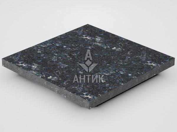 Плитка из Ковалевского лабрадорита 300x300x20 термообработанная фото