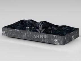 Плитка из Ковалевского лабрадорита 400x200x50 колотая фото
