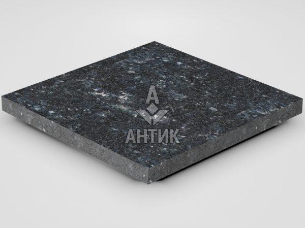 Плитка из Ковалевского лабрадорита 400x400x30 термообработанная фото