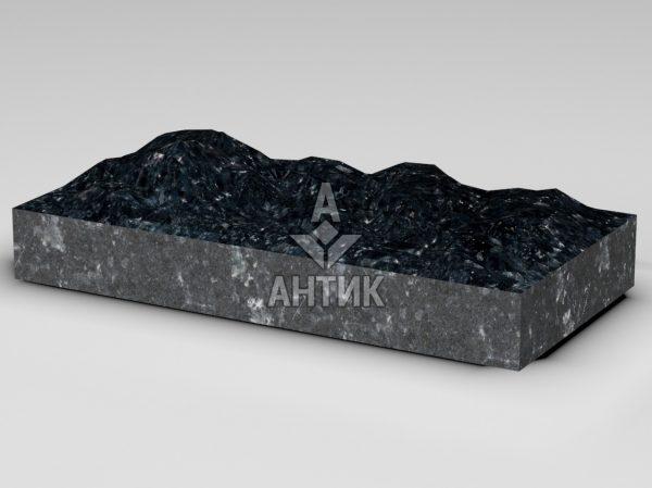 Плитка из Ковалевского лабрадорита 600x300x80 колотая фото