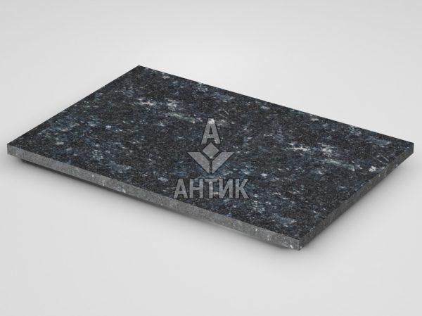 Плитка из Ковалевского лабрадорита 600x400x20 термообработанная фото