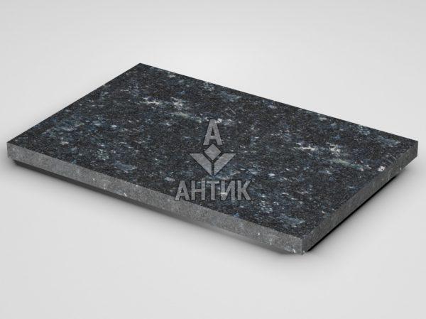 Плитка из Ковалевского лабрадорита 600x400x30 термообработанная фото