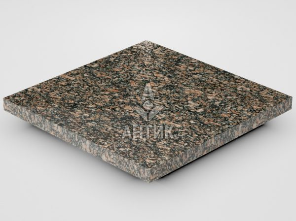 Плитка из Крупского гранита 300x300x20 полированная фото