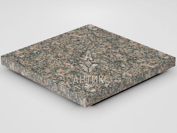 Плитка из Крупского гранита 400x400x30 термообработанная фото