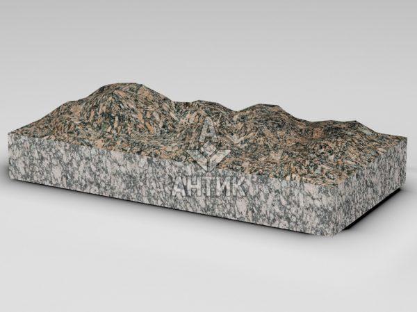 Плитка из Крупского гранита 600x300x80 колотая фото