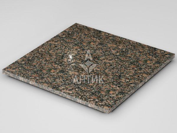 Плитка из Крупского гранита 600x600x20 полированная фото