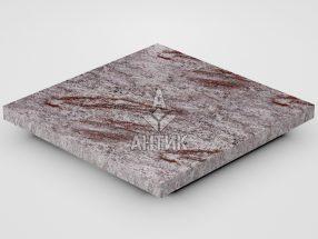 Плитка из Крутневского гранита 300x300x20 полированная фото