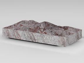 Плитка из Крутневского гранита 400x200x50 колотая фото