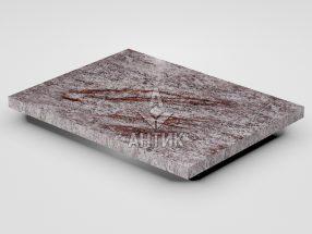 Плитка из Крутневского гранита 400x300x20 полированная фото