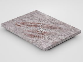 Плитка из Крутневского гранита 400x300x20 термообработанная фото