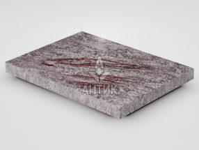 Плитка из Крутневского гранита 400x300x30 полированная фото