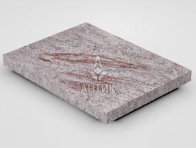 Плитка из Крутневского гранита 400x300x30 термообработанная фото