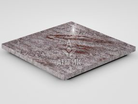 Плитка из Крутневского гранита 400x400x20 полированная фото