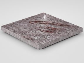 Плитка из Крутневского гранита 400x400x30 полированная фото