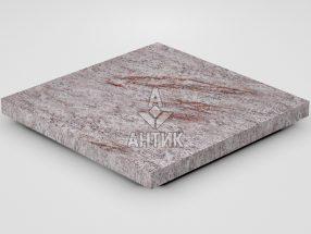 Плитка из Крутневского гранита 400x400x30 термообработанная фото