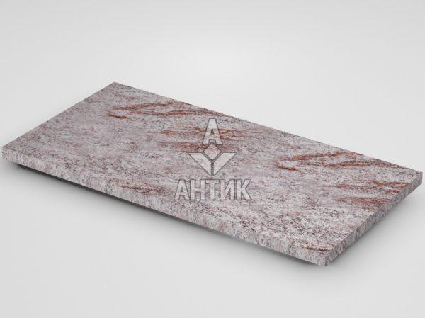 Плитка из Крутневского гранита 600x300x20 термообработанная фото