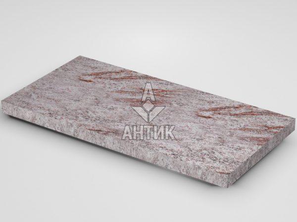 Плитка из Крутневского гранита 600x300x30 термообработанная фото