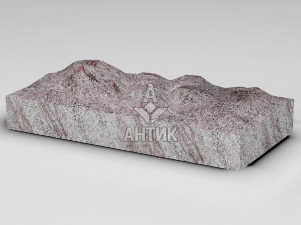 Плитка из Крутневского гранита 600x300x80 колотая фото