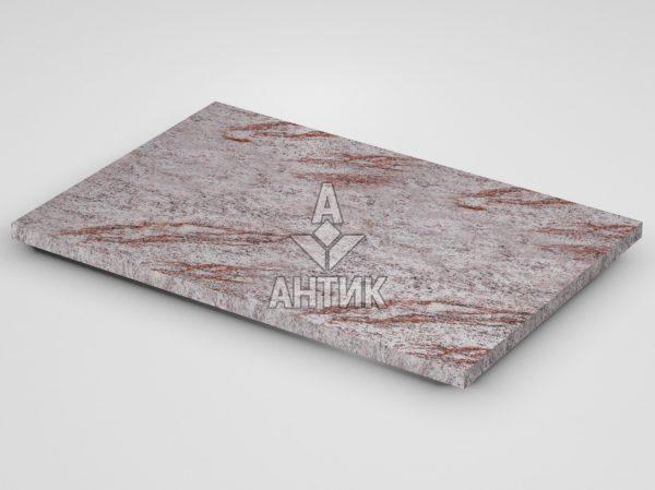 Плитка из Крутневского гранита 600x400x20 термообработанная фото