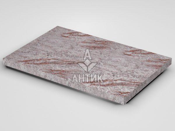 Плитка из Крутневского гранита 600x400x30 термообработанная фото