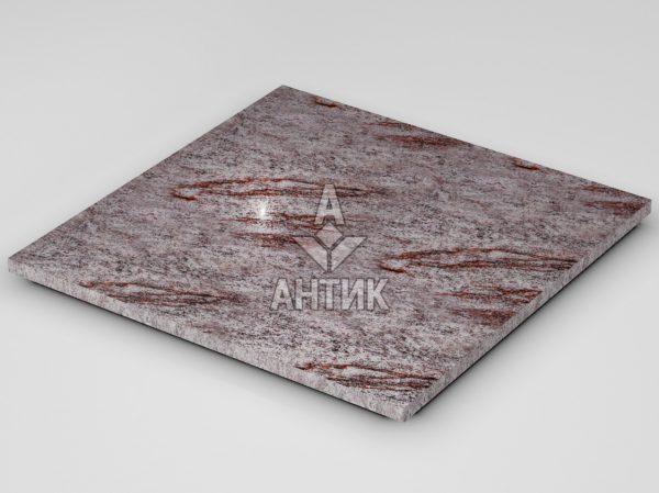 Плитка из Крутневского гранита 600x600x20 полированная фото